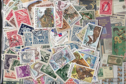 Slovakia Stamps-500 Different Stamps - Slovakia