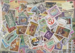 Kuwait Stamps-200 Different Stamps - Kuwait
