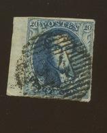 7 Ou 11 Bord De Feuille Gauche   Mais Dans La Marge Le Filigranne De L'imprimeur (si Je Vois Bien) - 1851-1857 Medallions (6/8)