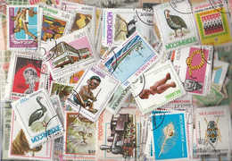 Mosambik Stamps-350 Different Stamps - Mozambique