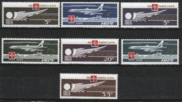 Malta Complete Set Of Stamps To Celebrate Air 1974. - Malta