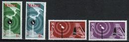 Malta Complete Set Of Stamps To Celebrate World Telecommunication Day 1977. - Malta