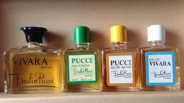 EMILIO PUCCI  VIVARA + PUCCI Lot 4 Flacon - Miniatures Womens' Fragrances (without Box)