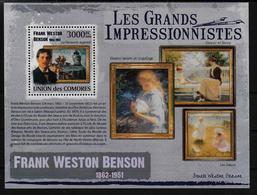 COMORES  BF ( 2009 )  * * Les Grands Impressionnistes  Frank Weston Benson - Impressionisme