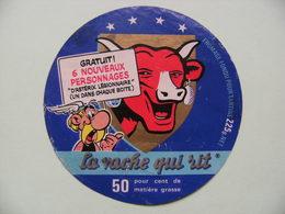 """Etiquette Fromage Fondu - Vache Qui Rit - Bel Portion 225g Pub Astérix D'Uderzo&Goscinny """"Légionnaire""""  A Voir ! - Cheese"""