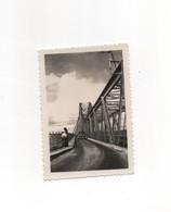 HANOÏ PONT PAUL DOUMER 1950 PHOTO ORIGINALE  VIETNAM INDOCHINE COCHINCHINE - War, Military