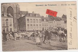 Tienen, Thienen, Tirlemont, Veemarkt, Marché Au Betail, Superkaart!!!!! - Tienen