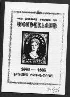 The Postage Stamps Of Wonderland, Gerald King Signed 12 Page Cinderella Catalogue - Cinderellas
