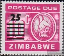 Zimbabwe P26 (complete.issue.) Unmounted Mint / Never Hinged 1990 Porto Brand - Zimbabwe (1980-...)