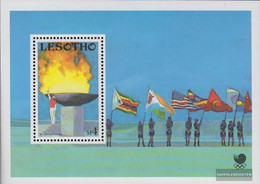 Lesotho Block55 (complete.issue.) Unmounted Mint / Never Hinged 1988 Olympics Summer - Lesotho (1966-...)