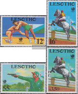Lesotho 727-730 (complete.issue.) Unmounted Mint / Never Hinged 1988 Olympics Summer - Lesotho (1966-...)