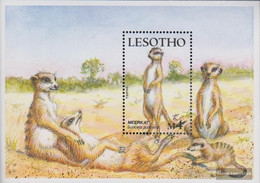 Lesotho Block52 (complete.issue.) Unmounted Mint / Never Hinged 1988 Locals Kleinsäuger - Lesotho (1966-...)