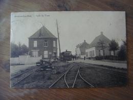MONTROEUL - AU - BOIS ( Frasnes - Lez - Anvaing ) --- Arrêt Du Tram - Frasnes-lez-Anvaing