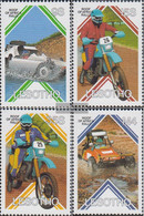 Lesotho 618-621 (complete.issue.) Unmounted Mint / Never Hinged 1987 Car Ralley On The Roof Africa - Lesotho (1966-...)