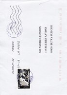 Lettre France 1 Timbre - Lettres & Documents