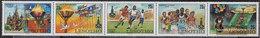 Lesotho 291-295 Five Strips (complete.issue.) Unmounted Mint / Never Hinged 1980 Olympic.summer Games.1980 - Lesotho (1966-...)