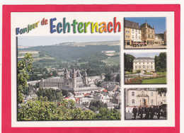 Modern Multi View Post Card Of Echternach, Grevenmacher, Luxembourg,L46. - Echternach
