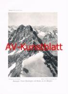 337-2 Kaunergrat Vordere Ölgrubenspitze Kunstblatt 1904!! - Documenti Storici