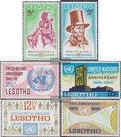 Lesotho 80-81,82-85 (completa Edizione) MNH 1970 Re Moshoeshoe I, ONU - Lesotho (1966-...)