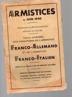(39-45)  ARMISTICES DE JUIN 1940 (PPP9289) - Documenti Storici