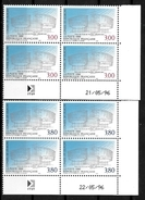 France Coins Datés 1996 Conseil De L'Europe  Yv.Nr. Service 116 à 117 Neuf Sans Charnière  ** - Dienstpost