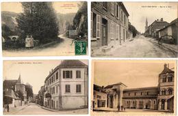 Lot 10 CPA & CPSM France  / Lens, Douai, Ailly-sur-Noye, Ebreuil, Soultz ... / A Voir !!! - Postcards