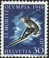 Schweiz 495y MNH 1948 Olympics Giochi Invernali - Switzerland