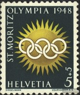 Schweiz 492y MNH 1948 Olympics Giochi Invernali - Switzerland