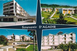 Carte 1965 SOUVENIR D'AGADIR / MULTIVUES HOTEL - Agadir