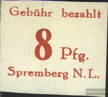 Spremberg (Lower) 11B VI T Top BeschädigT Unmounted Mint / Never Hinged 1946 Numbers - Zone Soviétique