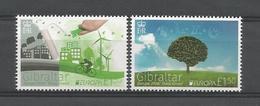 Gibraltar 2016 Europa Think Green  ** - Gibraltar