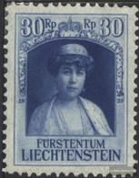 Liechtenstein 92 MNH 1929 Prince Franz I. - Liechtenstein