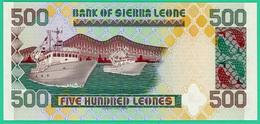 500 Leones - Sierra Leone - 1995 - N° E/69  757959 -  Neuf - - Sierra Leone