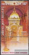 Israel 1571 With Tab (complete Issue) Unmounted Mint / Never Hinged 2000 Synagogue In Budapest - Israel