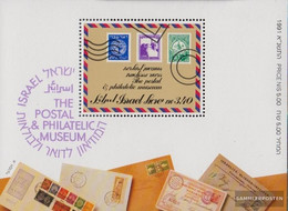 Israel Block43a (complete Issue) Unmounted Mint / Never Hinged 1991 Philateliemuseum - Israel