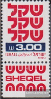 Israel 862x With Tab Unmounted Mint / Never Hinged 1981 Clear Brands: Schekel - Israel
