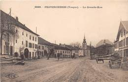PROVENCHERES - La Grande Rue - Provencheres Sur Fave