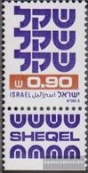 Israel 861y II Con Tab MNH 1981 Francobolli: Schekel - Israel