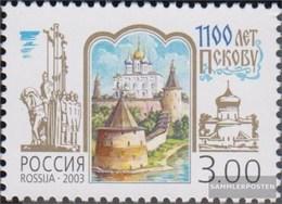 Russland 1092 (completa Edizione) MNH 2003 Città Pleskau - 1992-.... Föderation