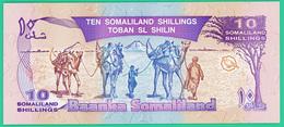 10 Shillings - Somalie    -  -  Neuf - - Somalie
