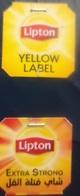 EGYPT - LIPTON TEA Label - Labels