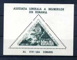 1945 ROMANIA BF26 * - Blocchi & Foglietti