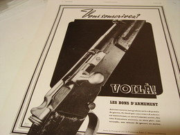 ANCIENNE PUBLICITE VOUS SOUSCRIVEZ  BONS D ARMEMENT 1940 - 1939-45