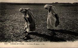 Algérie - Scénes Et Types - La Prière (2e Phase) - Algeria
