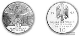 FRD (FR.Germany) Jägernr: 470 1998 A Stgl./unzirkuliert Silver Stgl./unzirkuliert 1998 10 DM Francke - [10] Commemorations