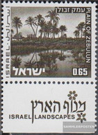 Israel 599y With Tab Unmounted Mint / Never Hinged 1973 Landscapes - Israel