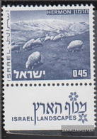 Israel 530y With Tab Unmounted Mint / Never Hinged 1971 Landscapes - Israel