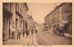 LE THILLOT - La Grande Rue - Le Thillot