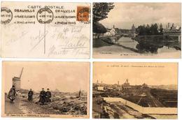 Lot 10 CPA & CPSM  / Liévin, Lens, Ramscapelle, Le Tréport ... / A Voir !!! - Cartes Postales