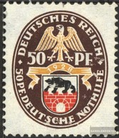 Deutsches Reich 429Y Con Fold 1928 Crest - Germania